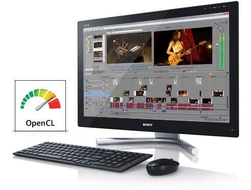 Sony Vegas Pro, Concebido para ofrecer altas prestaciones