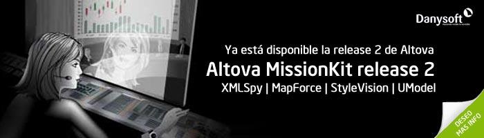 Altova MissioKit release 2