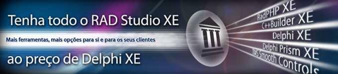 RAD Studio XE ao preço de Delphi XE