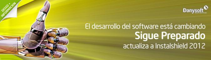 Actualización InstallShield 2012