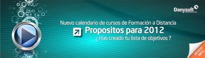 Calendario cursos de formación 2012