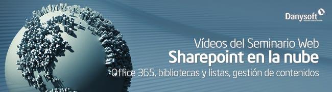 Videos del seminario web sharepoint en la nube