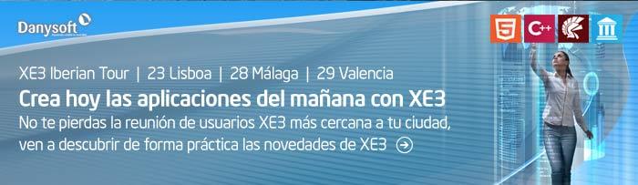 XE3 iberian tour