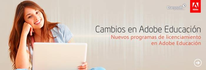Adobe Educación cambios programa educativo