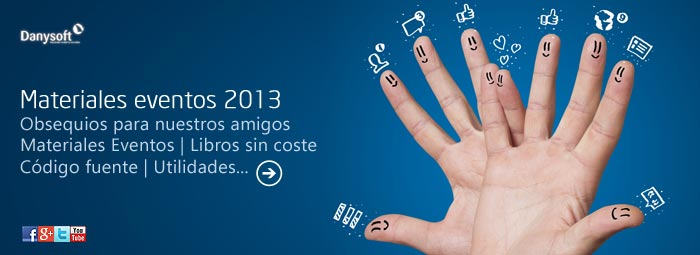materiales eventos danysoft 2013