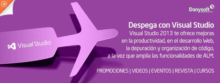 Especial Promociones Visual Studio 2013