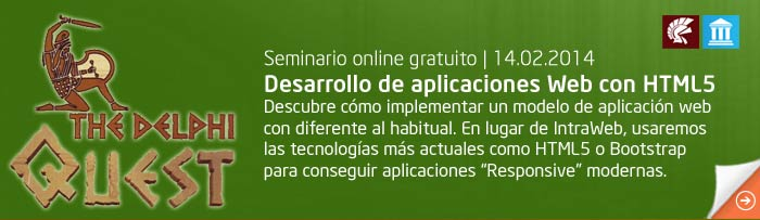 Seminario Delphi, creando aplicaciones web con html5