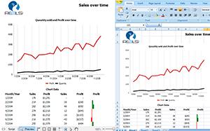 Extensión para la visualización en Excel