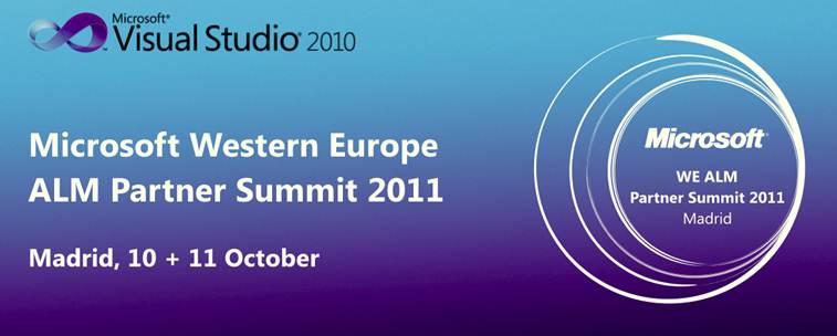 Avanzando en la gestión de los proyectos con ALM y TFS Microsoft Western Europe ALM Partner Summit 2011