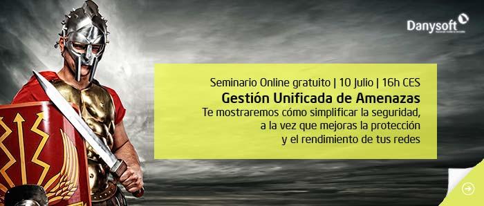 Seminario online Gestió Unificada de Amenazas