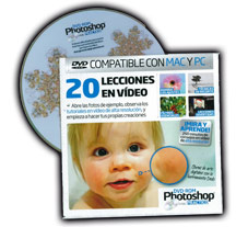 dvd 20 lecciones photoshop