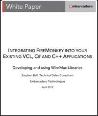 Guía integra FireMonkey en tus aplicaciones VCL, C++ y C#