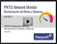 video monitorizar sistemas con prtg