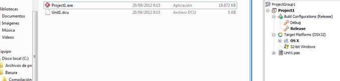 configurar rad studio xe3 con mac