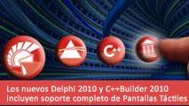 Delphi 2010 soporte pantalla táctil