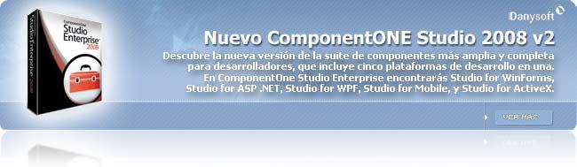 La suite más completa para los desarrolladores, ComponentONE