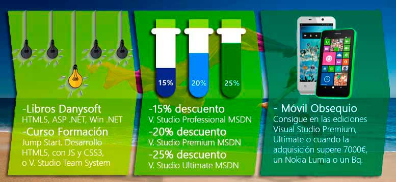 Visual Studio 2013, promocion especial