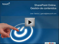 video gestion de contenidos sharepoint