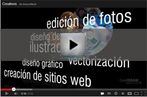 video coreldraw graphics suite x6 español