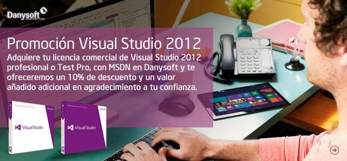 Promocion visual studio 2012