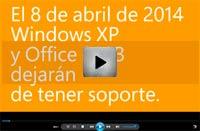 fin office 2003 y windows xp