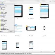 Diseñador Multidispositivo de FireUI con un código fuente único para todas las plataformas