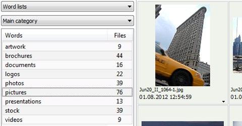 Filtra visualmente tus archivos para encontrar lo que buscas con Data Mining