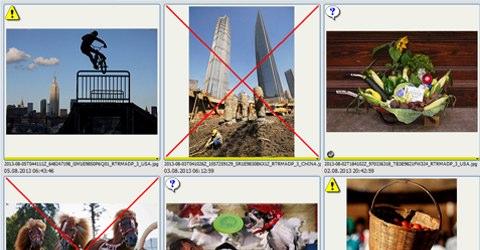 Añade automáticamente marcadores visuales a las imágenes que requieran atención especial