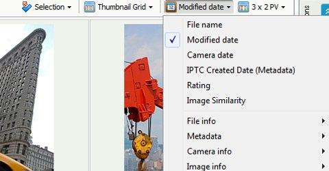 Ordena tus colecciones por cualquier tipo de propiedad o categoria de metadatos